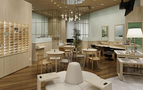 イメージ写真:モダンで快適なショップ空間